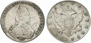 1 рубль 1786 года
