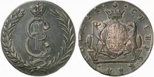 10 копеек 1779 года