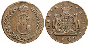 5 копеек 1774 года