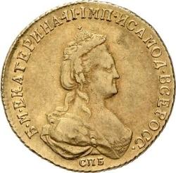 5 рублей 1786 года