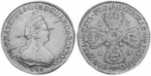 5 рублей 1789 года