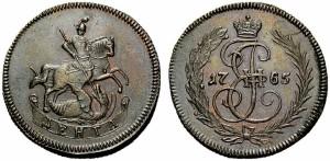 Денга 1765 года
