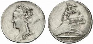 Жетон 1782 года