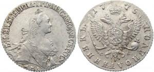 Полуполтинник  1775 года
