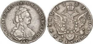 Полуполтинник 1781 года