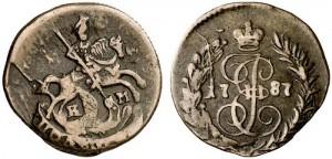 Полушка 1787 года