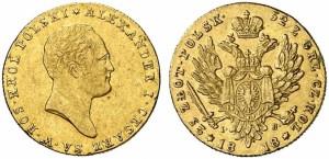 25 злотых 1818 года