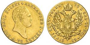 25 злотых 1819 года