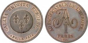 5 франков 1814 года