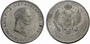 5 злотых 1829 года