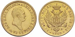 50 злотых 1822 года