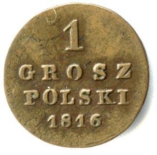 1 грош 1816 года