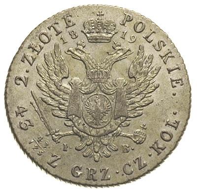 2 злотых 1819 года