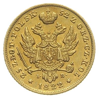 25 злотых 1822 года