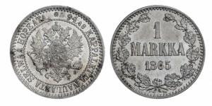 1 марка 1865 года