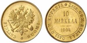 10 марок 1904 года