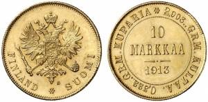 10 марок 1913 года