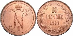 10 пенни 1899 года