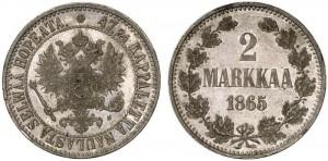 2 марки 1865 года