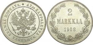 2 марки 1908 года