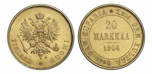 20 марок 1904 года