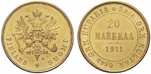 20 марок 1911 года