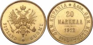 20 марок 1912 года