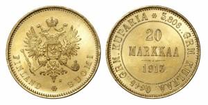 20 марок 1913 года