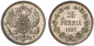25 пенни 1897 года
