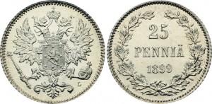 25 пенни 1899 года