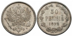 50 пенни 1872 года